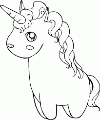 Coloring Pages Of Unicorns