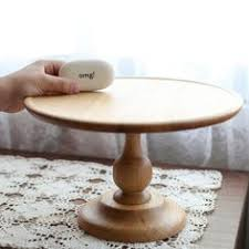 Potential Wood Cake Stand For The Single Tier Diameter To Be Discussed