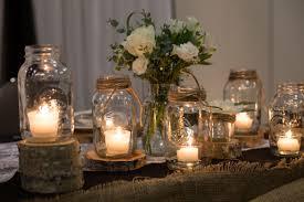 Rustic Wedding Decorations Simple Mason Jars