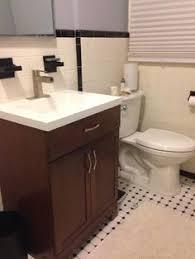 Glacier Bay Bathroom Vanity With Top by Glacier Bay Hayden 24 1 2 In Vanity In Cognac With Cultured