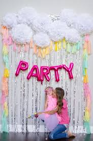 Foil Fringe Curtain Singapore by Rainbow Tassel Photobooth Backdrop And Silver Foil Fringe
