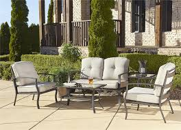 Amazon Prime Patio Chair Cushions by Amazon Com Cosco Outdoor 5 Piece Serene Ridge Aluminum Patio