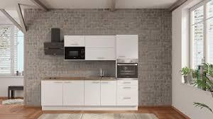 nobilia küchenzeile melle 270 cm weiß eiche provence komplett küchen mit elektrogeräten