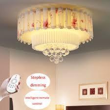 moderne runde led deckenleuchte gemütliches schlafzimmer wohnzimmer len garten stil kristall beleuchtung kinderzimmer leuchte
