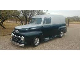 100 Ford Panel Truck For Sale 1951 For ClassicCarscom CC1127672