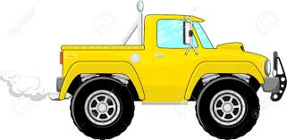 100 White Pick Up Truck Illustration Of Yellow Up Cartoon Isolated On