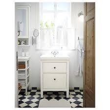 hemnes waschbeckenschrank 2 schubl weiß 60x47x83 cm