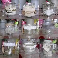 que faire avec des pots de yaourt en verre photophore pots en verre nadège en crop