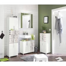 schildmeyer hochschrank ken höhe 163 7 cm badezimmerschrank mit metallgriffen türen mit soft funktion wechselbarer türanschlag und 3