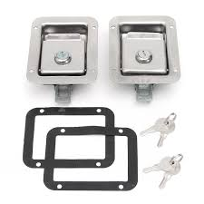2Pcs/set Stainless Steel Paddle Door Lock Latch Handle Truck Tool ... Cam Locker Toolbox Alumstainless Steel Truck Tool Chest Boxes Better Built 79011750 Sec Series X2 Standard Single Lid 2pcsset Stainless Paddle Door Lock Latch Handle Delta 70 In Alinum Low Profile Full Size Crossover Ute Boxs With Drawers White Box Storage Home Design Ideas And Pictures Accsories Northern Equipment Wdouble Doors 4 Sizes Eby Welcome To Rodoc Sales Service Leasing Amazoncom Buyers Products L8855 Thandle Latchthdlsst Underbody With Hayneedle 350x400mm Tb032 Red Flag