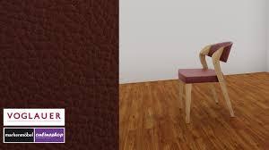 voglauer v alpin spin chair in leder wähle aus 9 farben