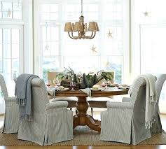 Pottery Barn Chair Slipcovers 2 West Elm Porter Dining Kitchen Table