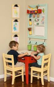 Toddler Art Desk With Storage by 25 Unique Craft Corner Ideas On Pinterest Craft Desk Craft
