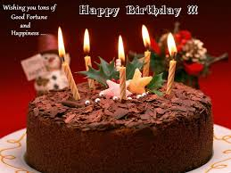 Birthday Cake Wishes Birthday Cake With Wishes For Friend Dark Brown Color Design Ideas With