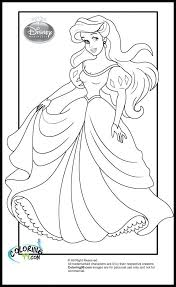 Disney Princess Coloring Pages Online Games Cinderella Pictures To Print