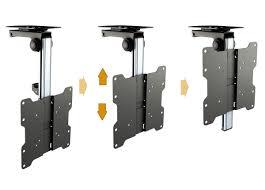 ricoo support tv plafond orientable inclinable d0122 téléviseur