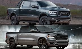 100 Concept Semi Trucks Mopar Reveals Modified Ram 1500 Rebel And Big Horn Low Down SEMA