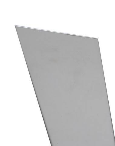"K and S Aluminum Sheet - 6"" x 12"""