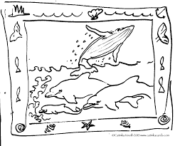 Marine Mammals Whales Drawing Demo By Catinka Knoth Coloring Page