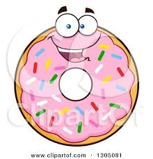 Donut Doughnut Printable Cute Donuts Clipart Dad Jpg Download