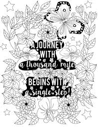 Inspirational Quotes A Positive Uplifting By LiltColoringBooks Adult Coloring PagesColoring BooksActivity