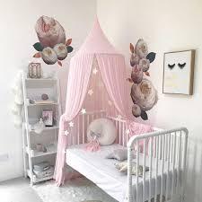 nordic baby moskito net zubehör hängen prinzessin kinder schlafzimmer kinder bett zelt baby mädchen zimmer dekor krippe netting