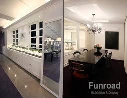 Mirror MDF Baking Material Treatment Jewellery Shop Interior Design