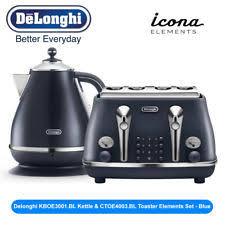 NEW Delonghi KBOE3001BL Kettle CTOE4003BL Toaster Elements Set