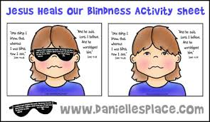 Pin Miracle Clipart Blind Woman 3