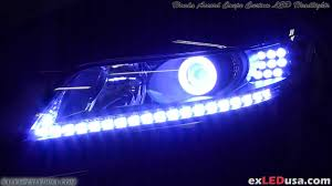exledusa honda accord coupe custom led headlights