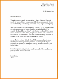 How To Write Letter To A Friend Gallery Letter Format Examples