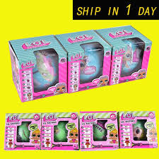 Lil Sisters Series 2 LQL LOL Surprise Doll With Retail Box 75cm Girls Tear Change Egg Can Spray Realistic Baby Toys OTH646 SURPRISE DOLL