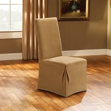 Living Room Seats Covers by Sure Fit Cotton Duck Dining Room Chair Cover Hayneedle
