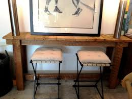 Narrow Sofa Table Behind Couch by Great Idea For Behind Couch Bar Table Modern Wall Sconces And