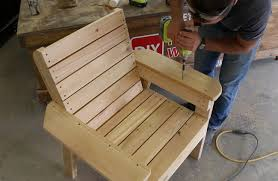 DIY Patio Chair Plans and Tutorial Step by Step Videos and s