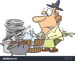 Man Clipart Washing Dish 15