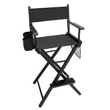 Amazon.com: Easy Directors Chair Canvas Tall Seat Black Wood Folding ... Amazoncom Easy Directors Chair Canvas Tall Seat Black Wood Folding Wooden Garden Fniture Out China Factory Good Quality Lweight Director Vintage Chairs With Mercury Outboard Acacia Natural Kitchen Zccdyy Solid High Charles Bentley Fsc Pair Of Foldable Buydirect4u Aland Departments Diy At Bq Stock Photo Picture And Royalty Bar Stools A With Frame For Rent