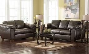 Brown Leather Sofa Living Room Ideas by Brown Leather Living Room Furniture Otbsiu Com