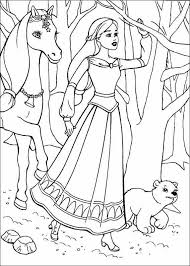 Printable Disney Princess Coloring Page For Girls