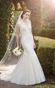 852 Mermaid Wedding Dress With Heavy Beading By Martina Liana