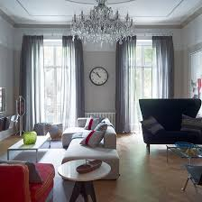 Red Living Room Ideas Uk by Elegant Grey Living Room With Parquet Floor Grey Living Rooms