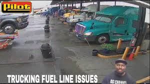 PILOT TRAVEL CENTER TRUCK STOP FUEL LINE INCIDENT VLOG - YouTube