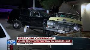 100 Truck Stop Stories Classic Truck Stops Vehicle From Plowing Into Lemon Grove Home Video