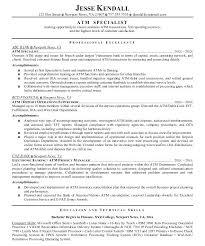 Bank Teller Resume Sample Download Summary