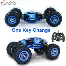 100 Truck All Terrain Tires Double Sided Run RC Car One Key Transform Terrain Off Road
