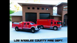 100 Matchbox Fire Trucks Custom Painted Emergency Vehicles Squad 51 OCFA