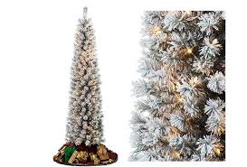 Pre Lit Pencil Slim Christmas Trees by Top 10 Best Pencil Christmas Trees 2017