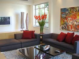 Red And Black Small Living Room Ideas by Home Design 89 Breathtaking Brown And Red Living Rooms