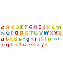 ABC Magnetic Letters From Hape from The Wooden Toybox