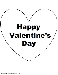 Happy Valentines Day Coloring Pages Photos